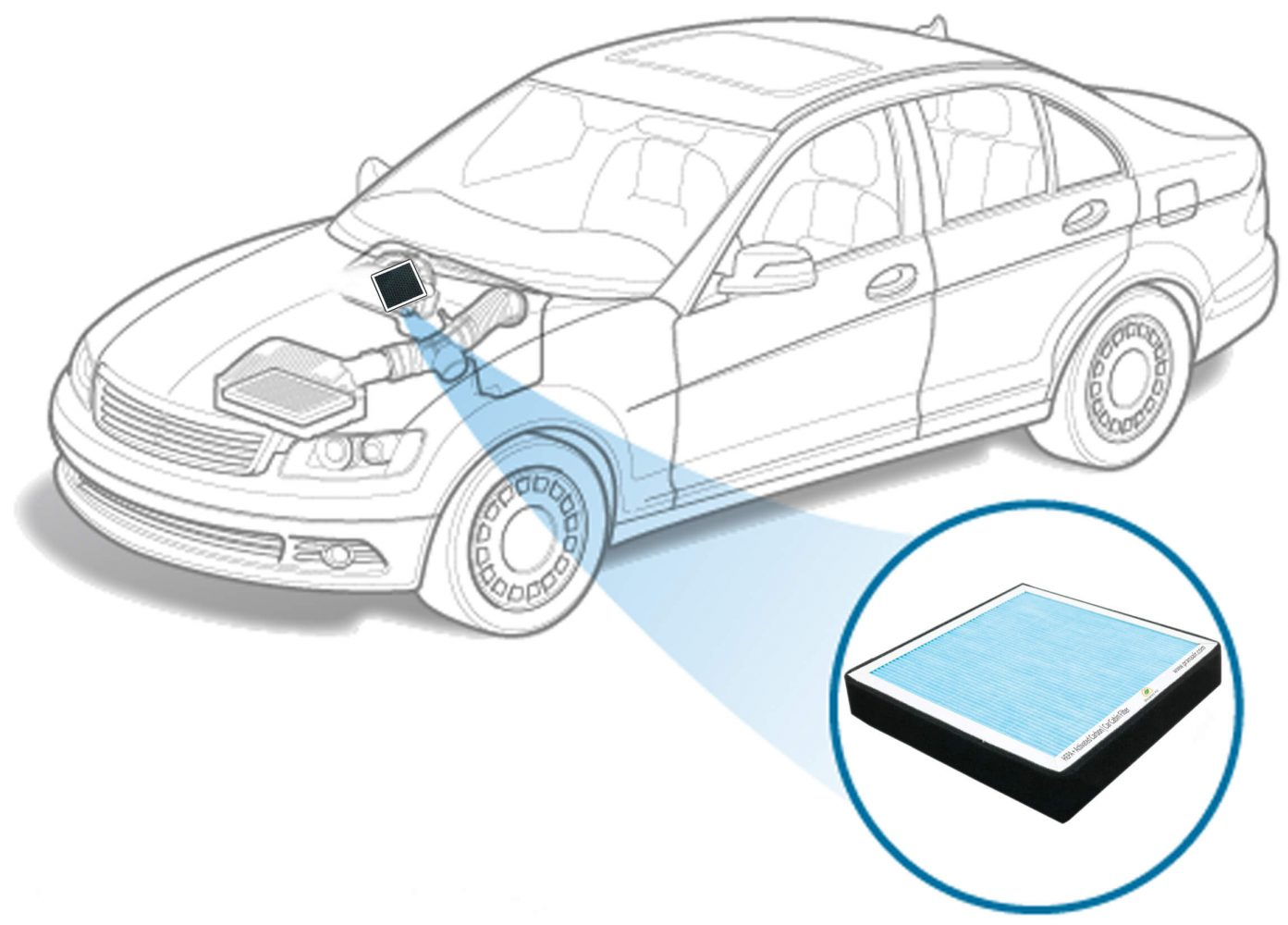 installation of prana air car air filter
