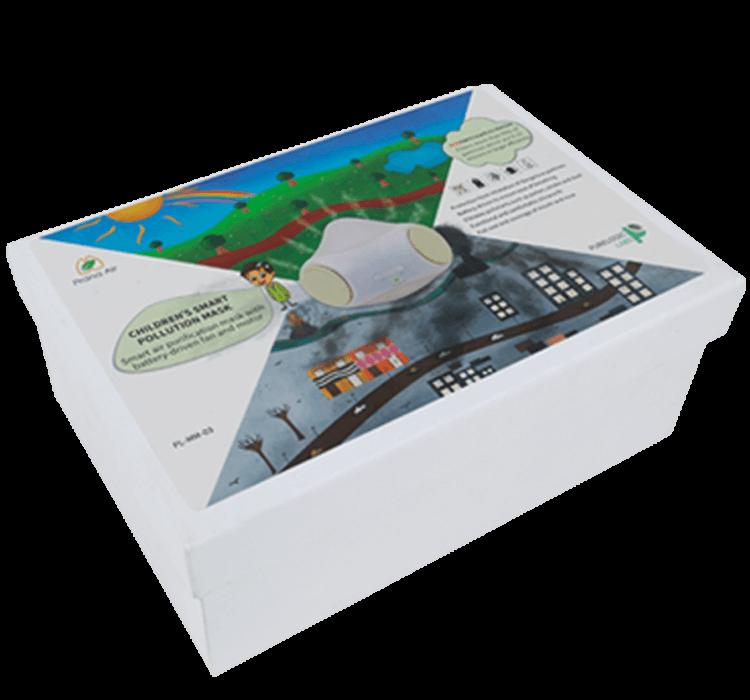 prana air children pollution mask box